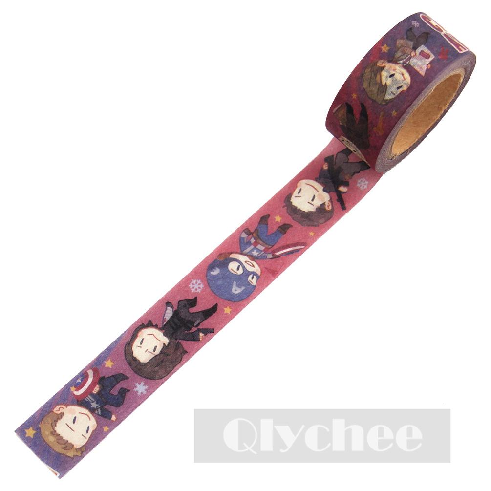 New Design DIY Paper Sticky Adhesive Sticker Decorative Washi Tape Xmas Gift