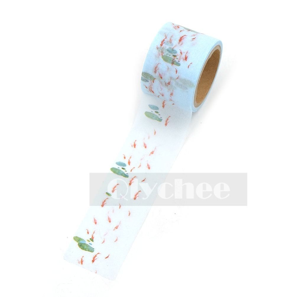 Washi Tape Free Shipping DIY Decor Sticky Adhesive Scrapbooking  5 Meters Roll