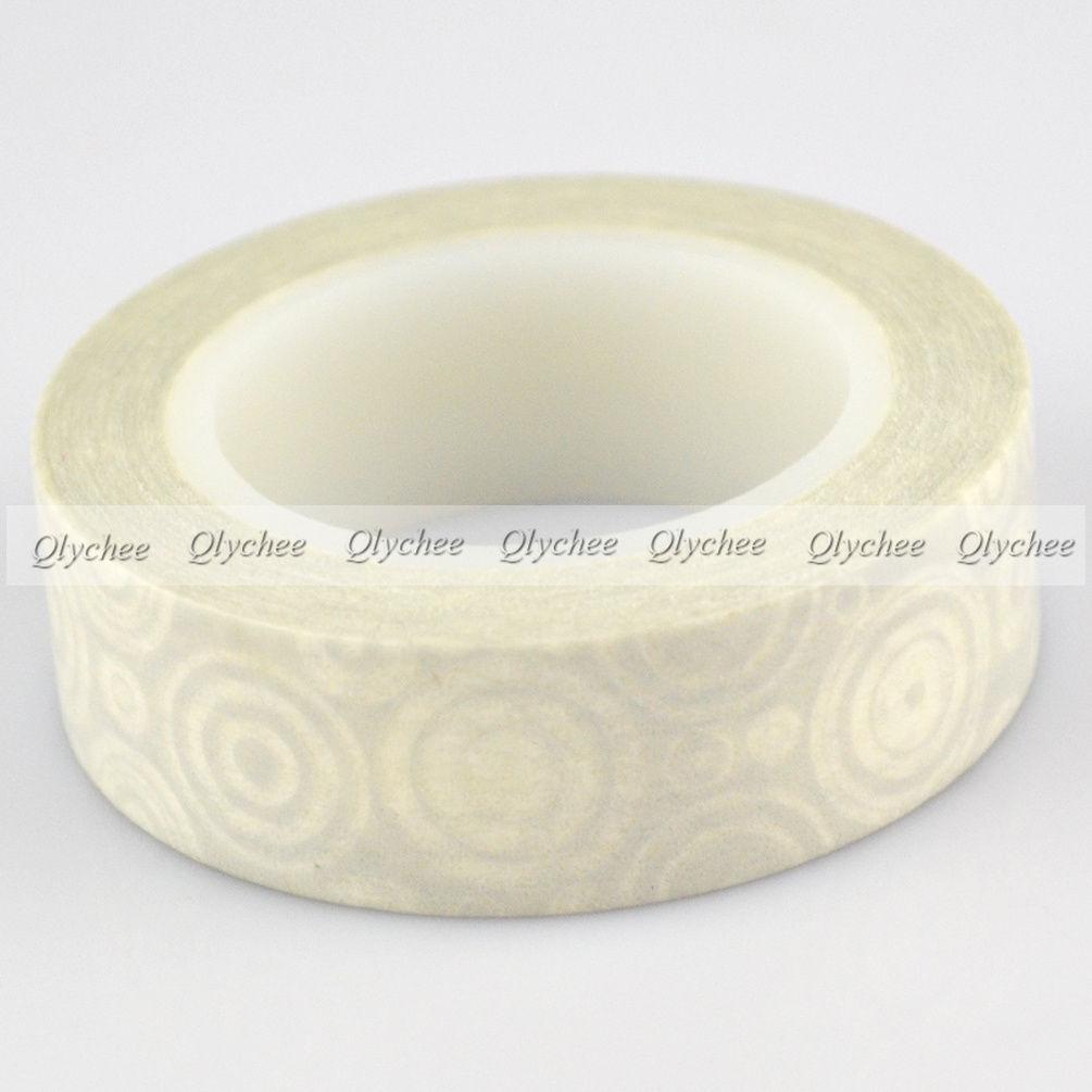 Fashion New Japanese Deco Decorative Craft Paper DIY Washi Tape Mulit Choice