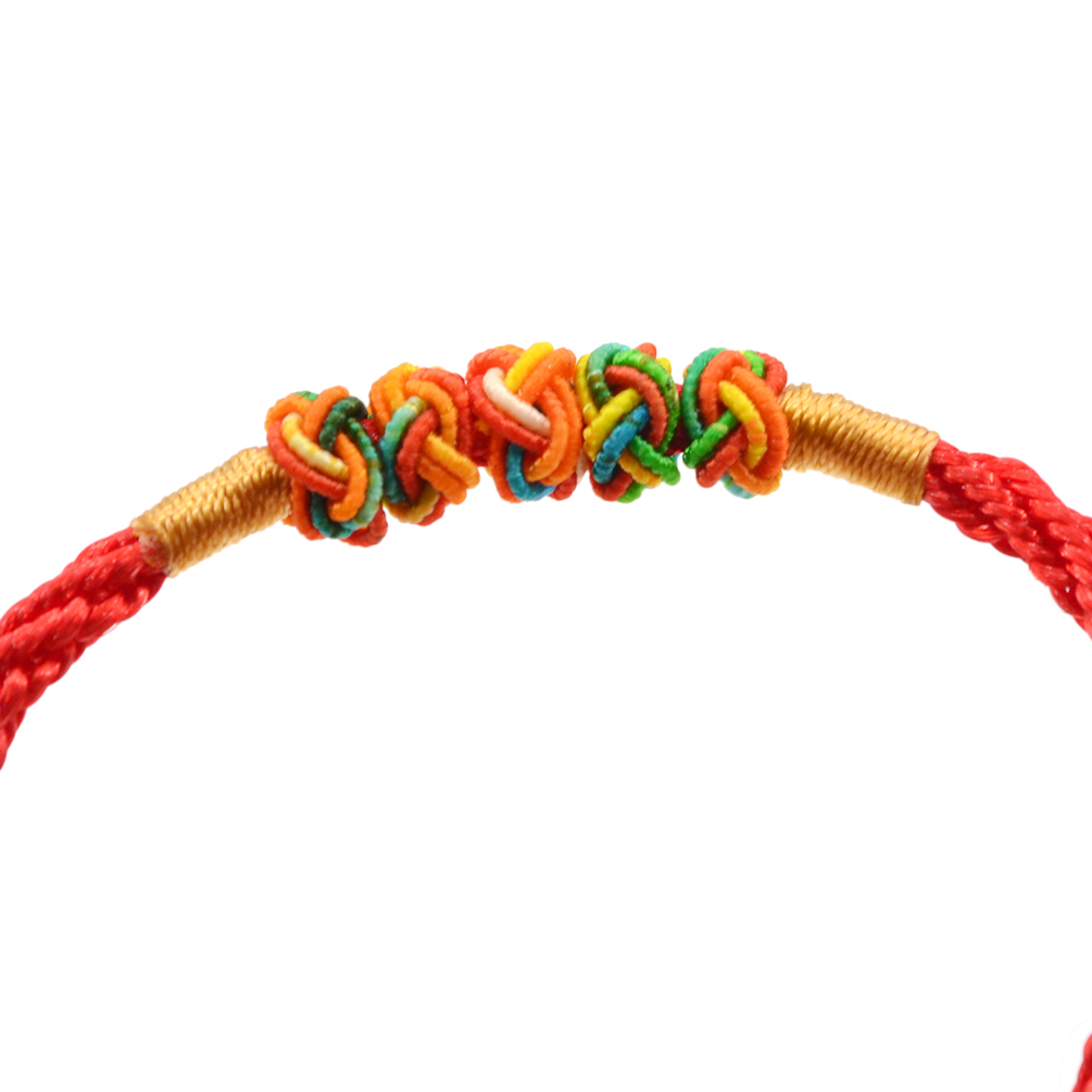 Feng Shui Red String Thread Adjustable Bracelet Chinese Oriental Lucky Jewelry Picclick