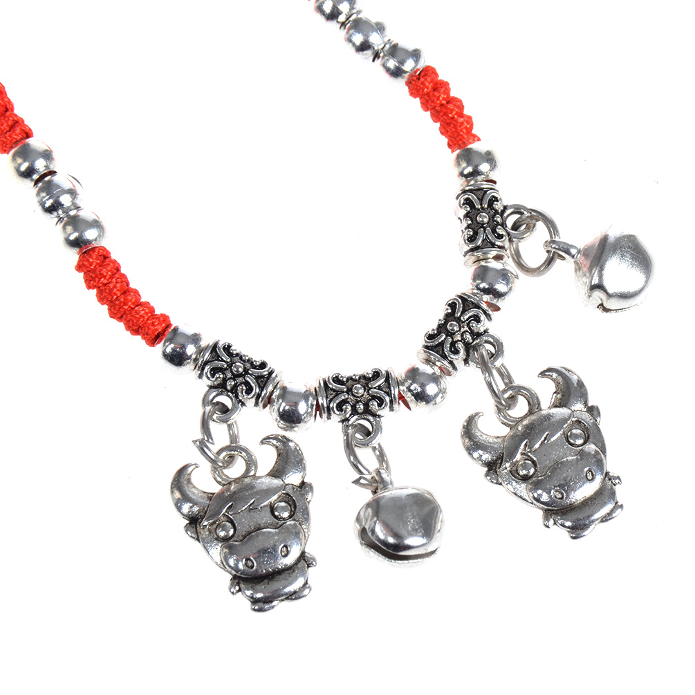 Lucky Chinese Zodiac Charms Bracelet Red String Feng Shui Unisex Jewelry New Ebay