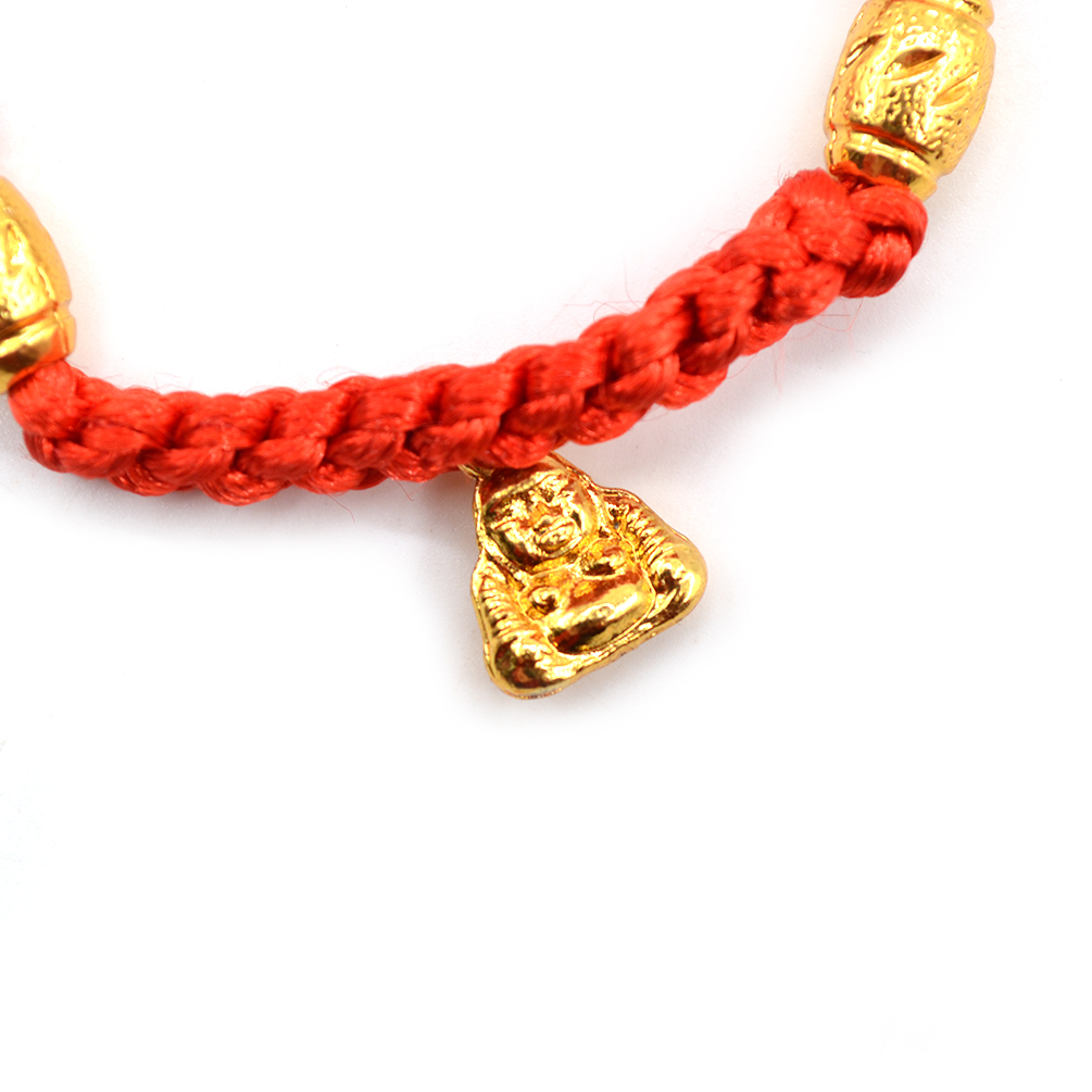 Chinese Feng Shui Lucky Buddha Bead Red String Bracelet Good Luck Jewelry New Ebay