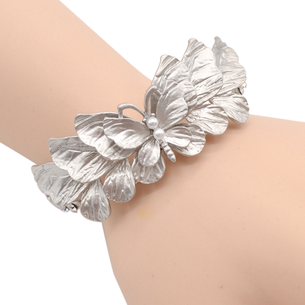 Women Metal Cuff Bangle Elegant Bracelet Fashion Friendship Jewelry Lots Style Ebay
