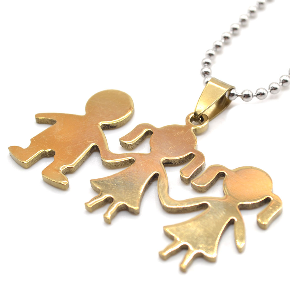 1pc boy friend symbol pendant necklace stainless