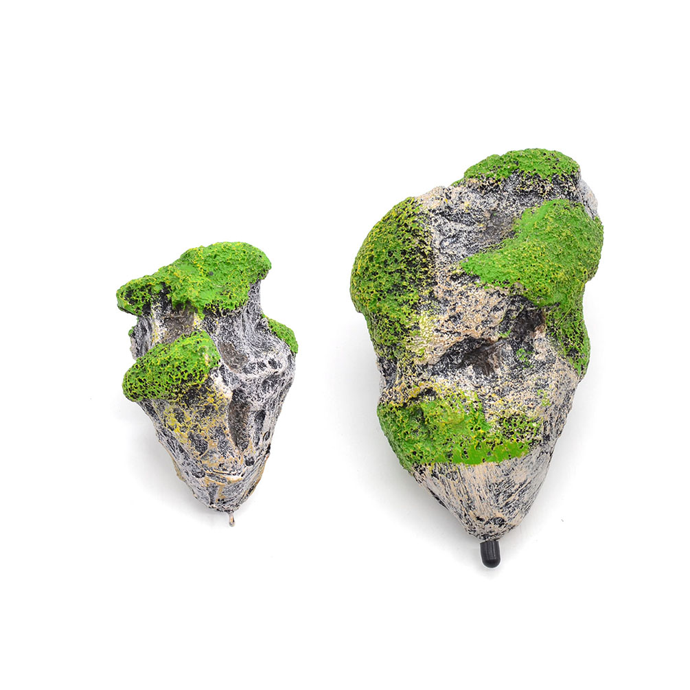 1 pcs aquarium floating rock suspended stone for fish tank for Aquarium stone decoration