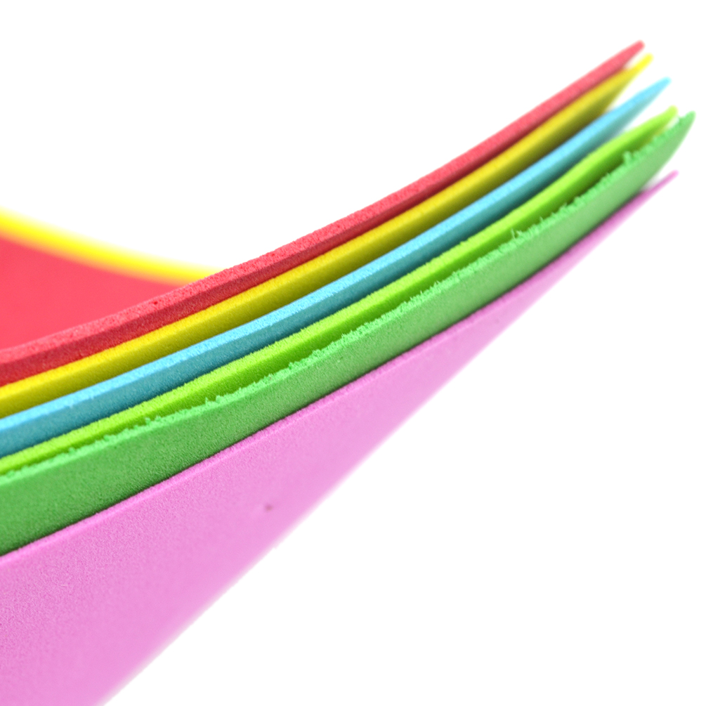 10 sheets thick multicolor a4 sponge eva foam paper kids for How to cut thick craft foam