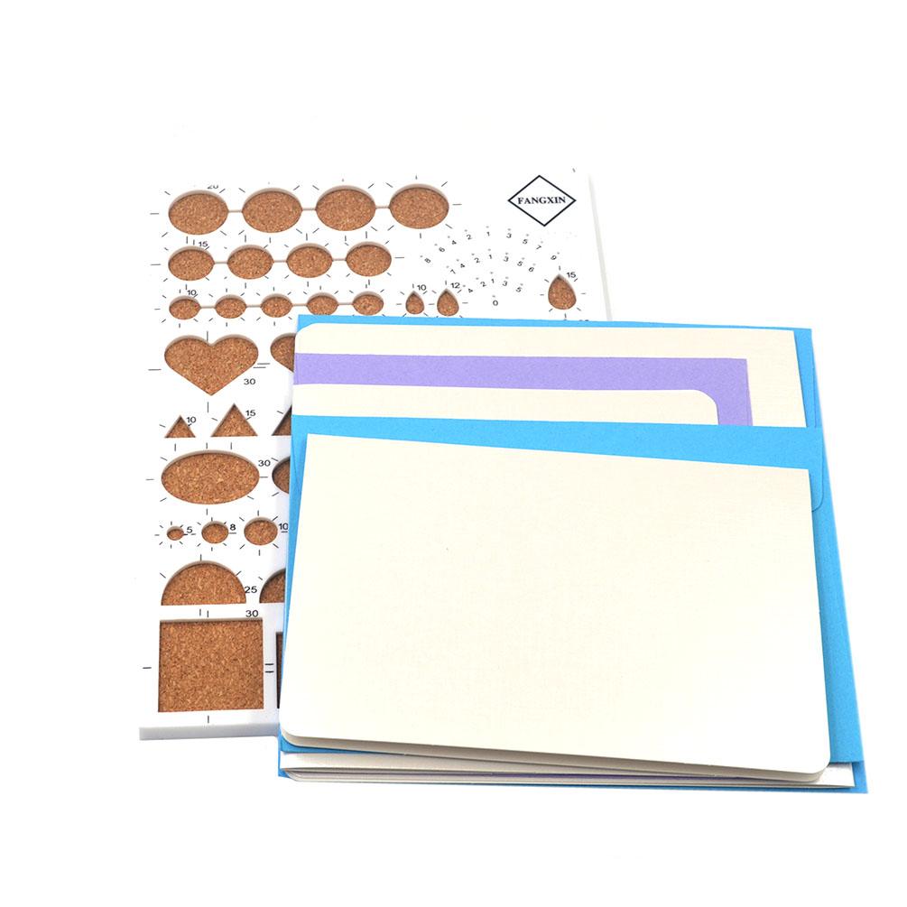 1 set quilling paper board template tool kit for diy paper for Random diys