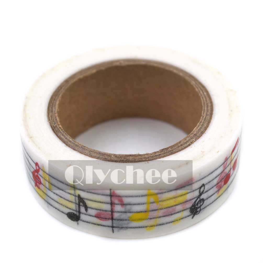 paper washi masking tape adhesive sticky scrapbooking roll decorative halloween ebay. Black Bedroom Furniture Sets. Home Design Ideas