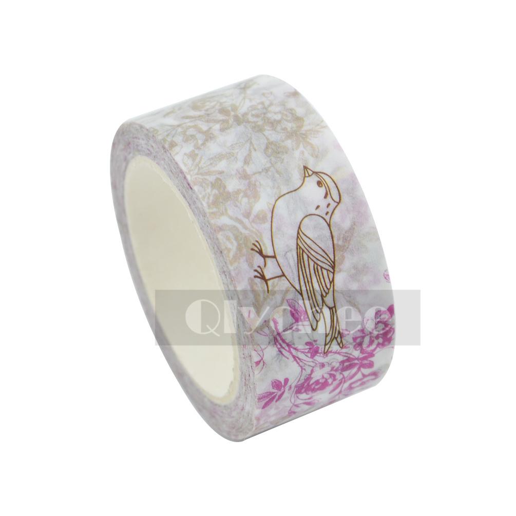 Floral Washi Tape Paper Sticky Adhesive Sticker Decor DIY Xmas Gift 2cm X 8M