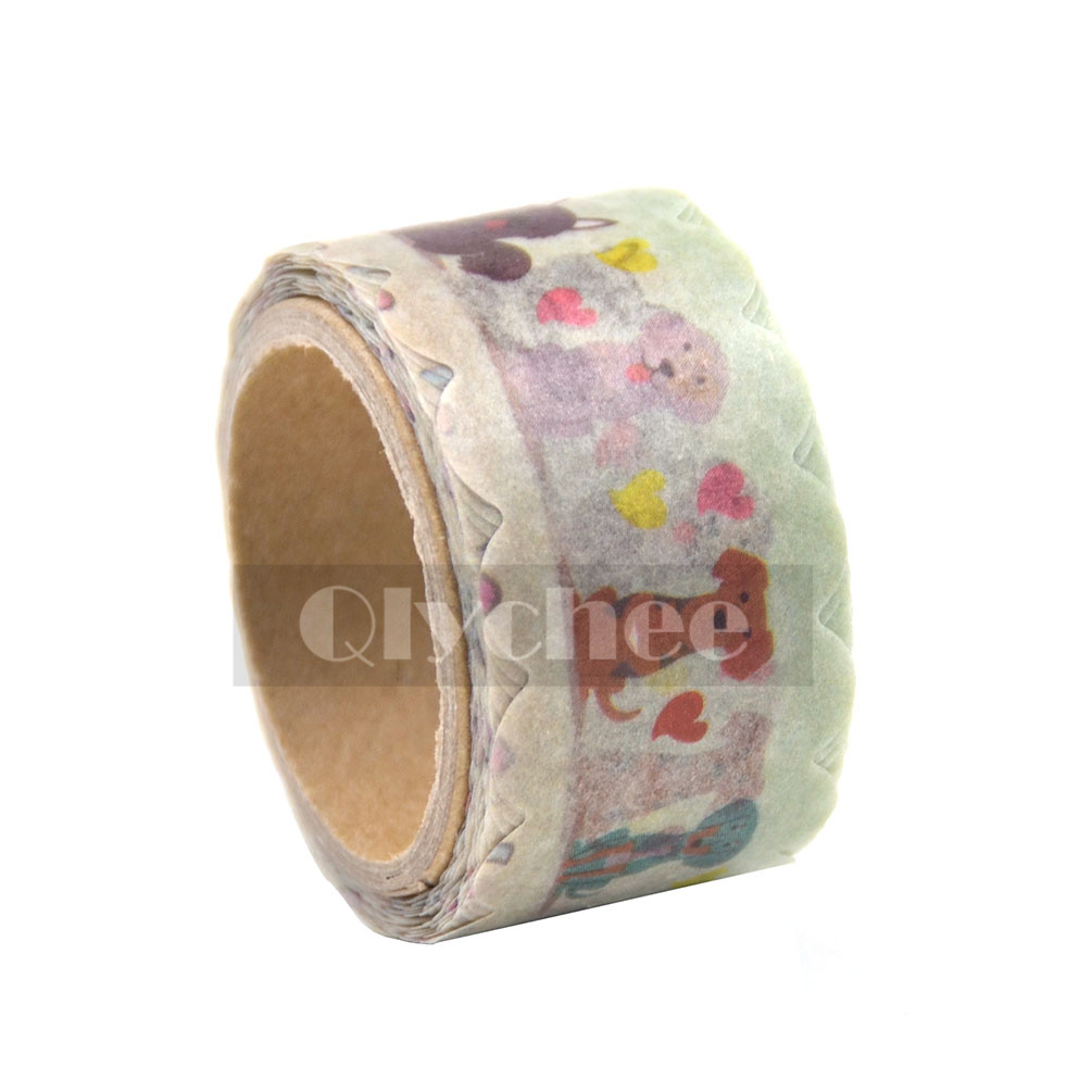 DIY Paper Sticky Adhesive Sticker Washi Tape Wedding Party Christmas Cards Decor