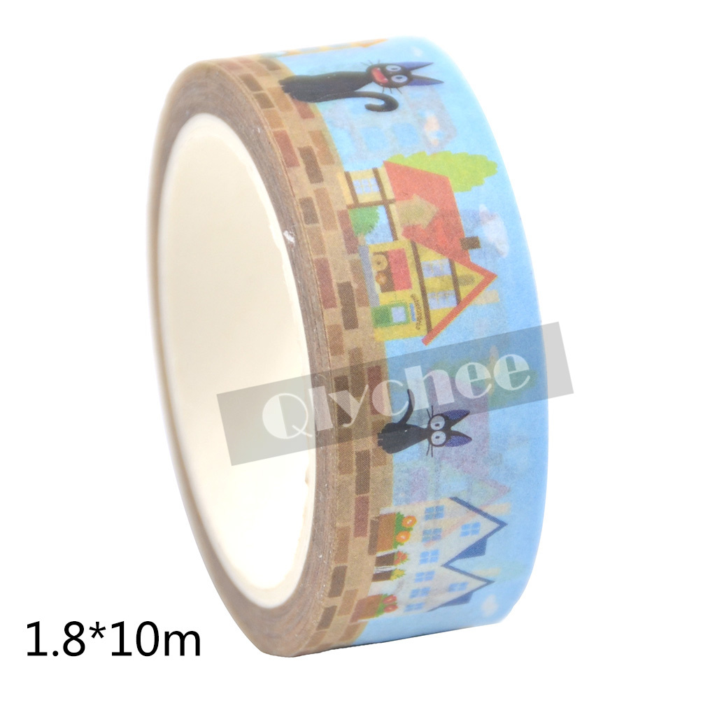 Japanese Anime Totoro Washi Tape Decorative DIY Paper Sticky Adhesive Sticker