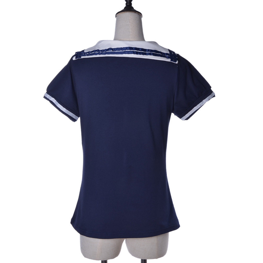 how to make a sailor shirt collar