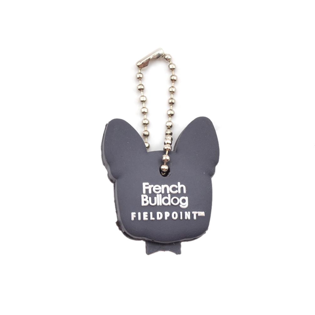 Animal Mouse Bulldog Key Cover Top Head Cap Keyring Keychain Bags Phone Strap