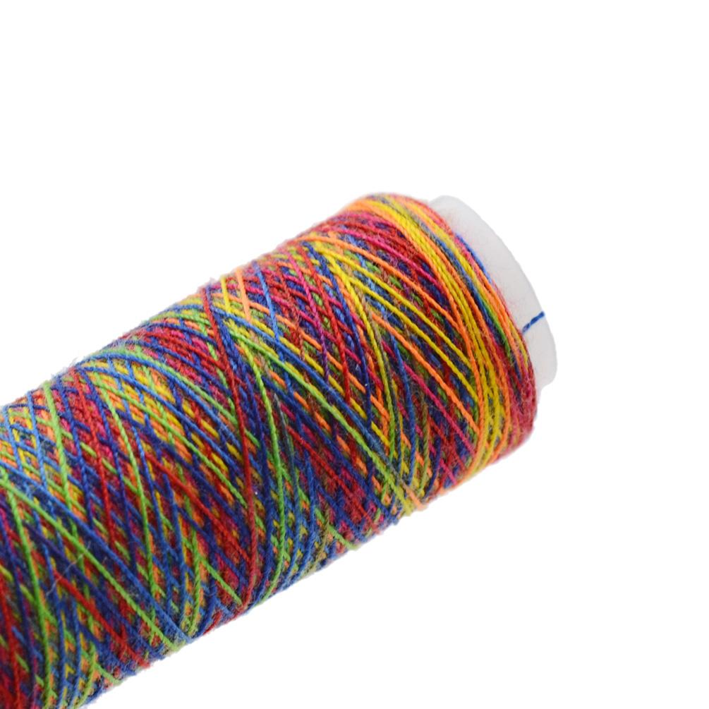 Spool Sewing Nylon Thread Rainbow Hand Quilting Embroidery Needlework 110 Meters   EBay
