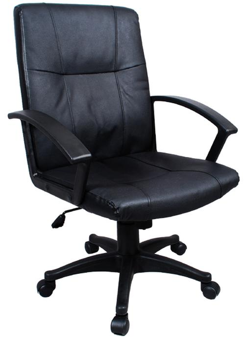 new black ergonomic executive leather office chair computer desk task