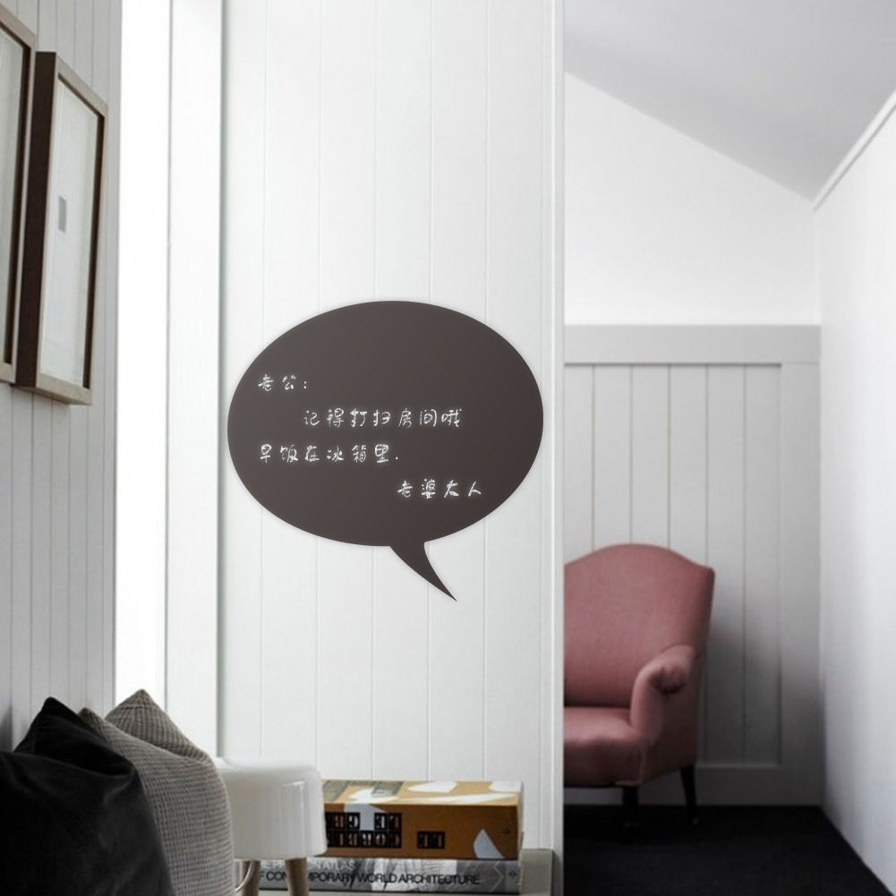 New Removable Vinyl Blackboard Wall Sticker Office Home ...