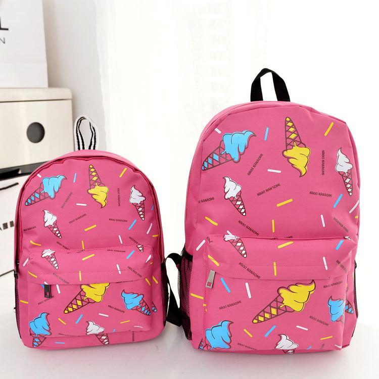 Ice Cream Kids Bags Backpacks Comfortable Children School Bags For Boys Girls