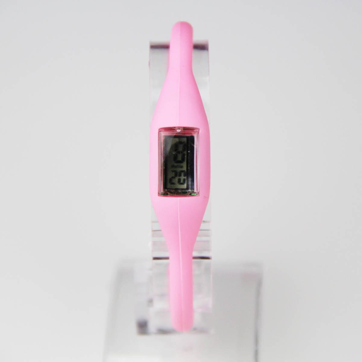 Fashion Ladies Jelly Wrist Watch Women Girls Kids SILICONE Digital Watch