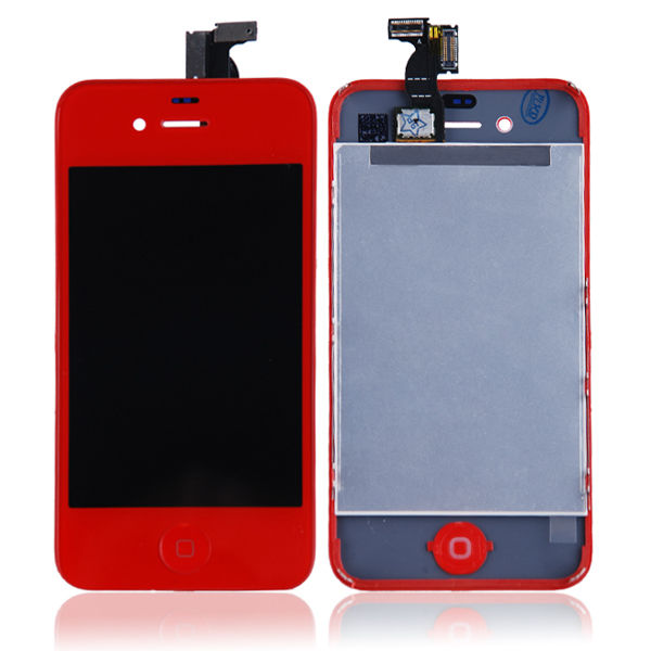 For-iPhone-4-GSM-Full-Front-LCD-Touch-Screen-Digitizer-Replacement-Assembly-Red