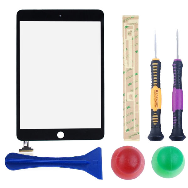 For-iPad-Mini-Front-Panel-Touch-Screen-Digitizer-Glass-Lens-Replacement-Tools
