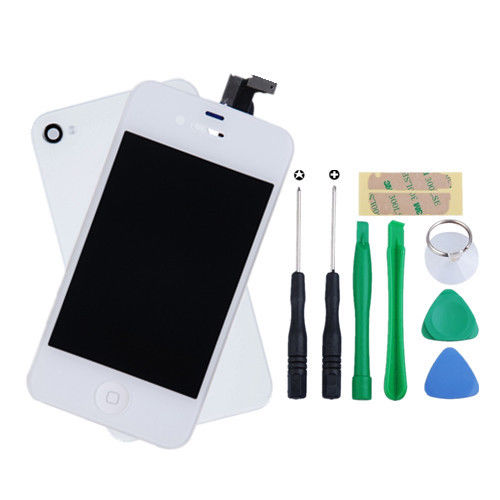 For-iPhone-4-GSM-Replacement-LCD-Touch-Screen-Digitizer-Assembly-Free-Tools