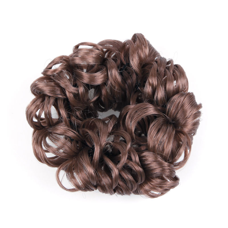 Curly Scrunchy Extension Hairpiece Hair Band Ring Rope Updo Ponytail Holder New