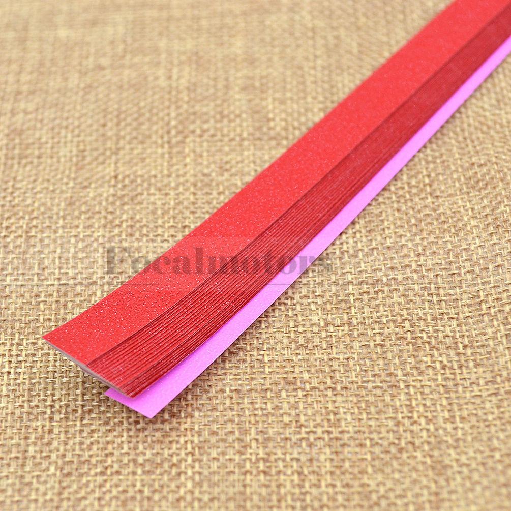 20 strips shiny lucky star origami folding paper handmade for Lucky star folding