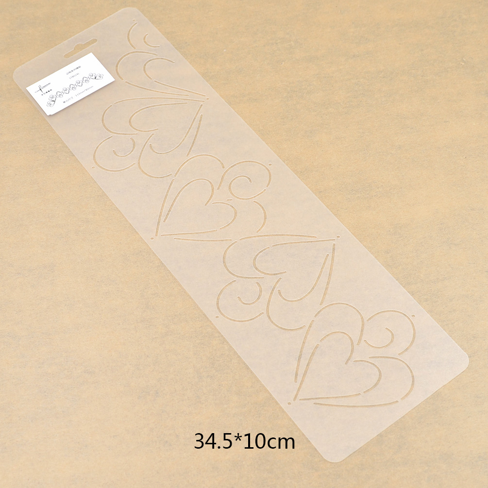 Quilting Stencil Template for Craft Stitch Sewing DIY Art Craft Tool Plastic 1pc eBay