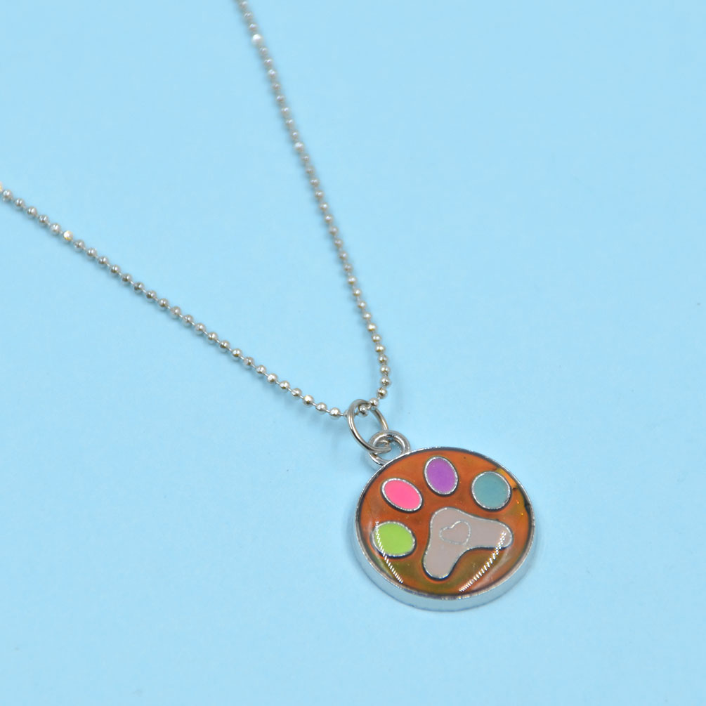 animals mood necklace color changing emotion feeling