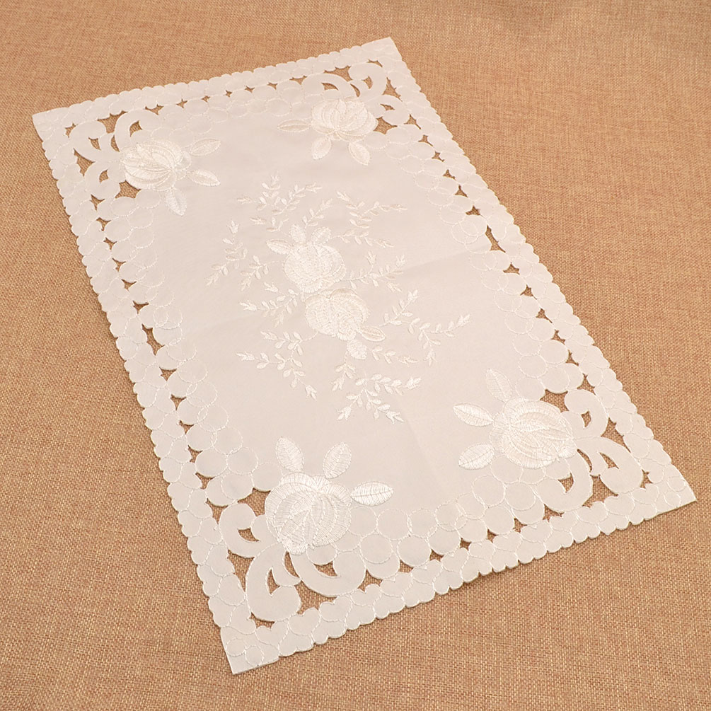 Hand Crochet Tablecloth Embroideried Table Cloth Placemats ...