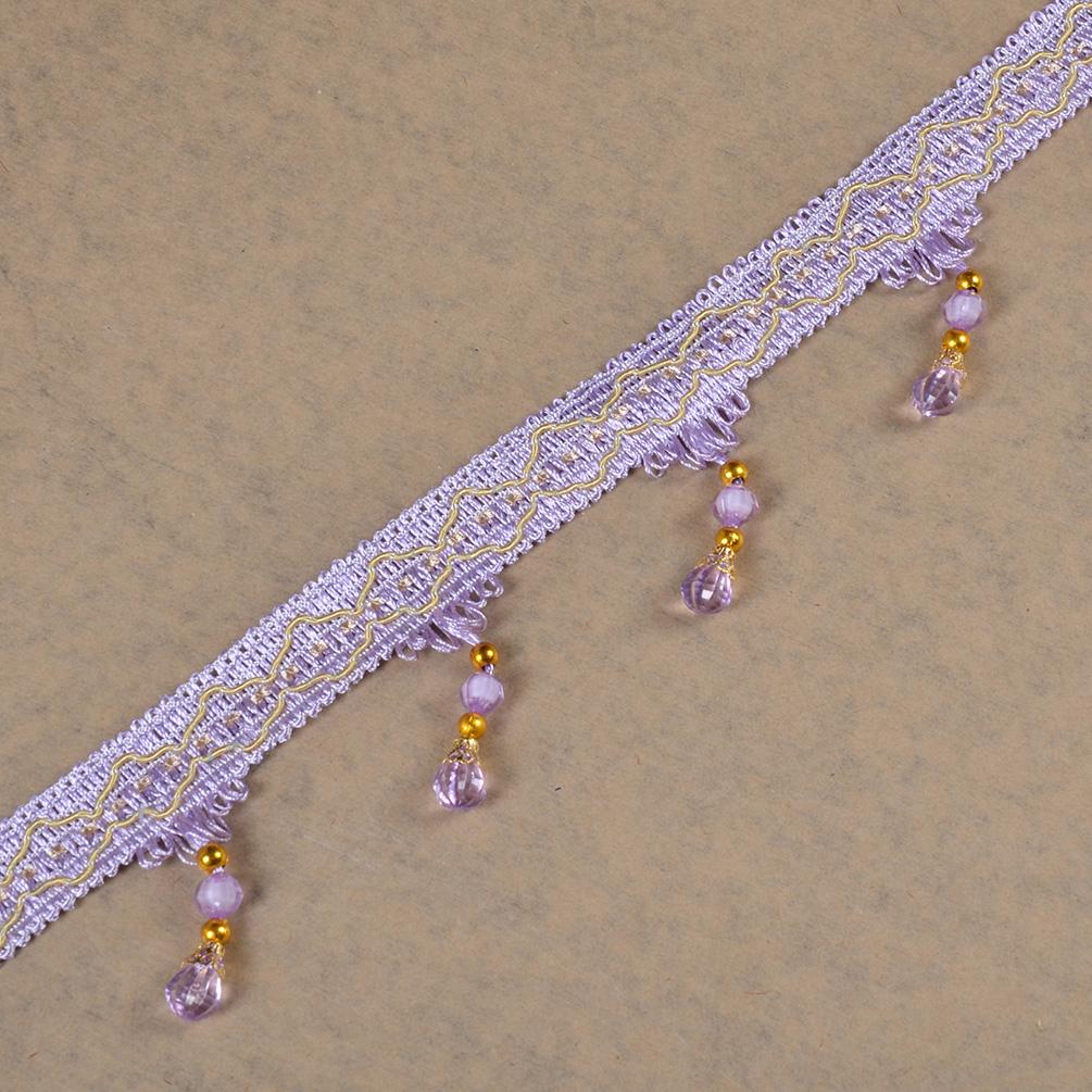 12 meters beaded tassel fringe trims ribbon diy sewing for Craft ribbons and trims