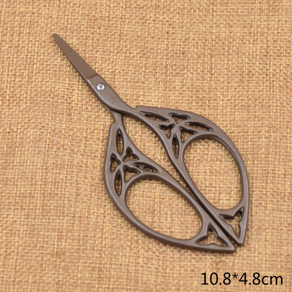 Antique retro vintage crafts scissors sewing embroidery