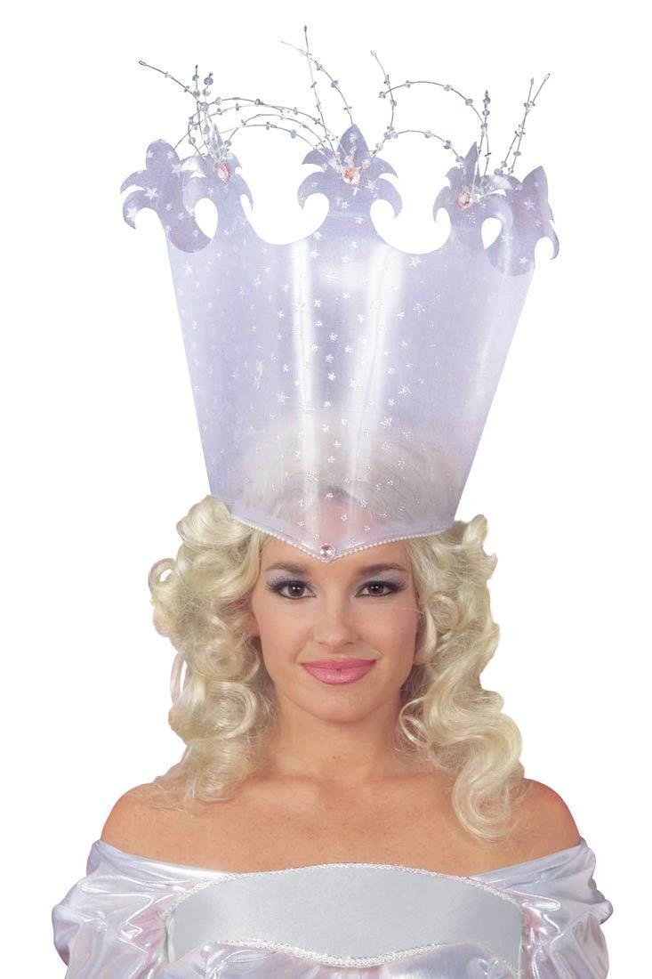 Good Fairy Crown Witch Glinda Wizard of Oz Hat Pink Gems Glitz ...