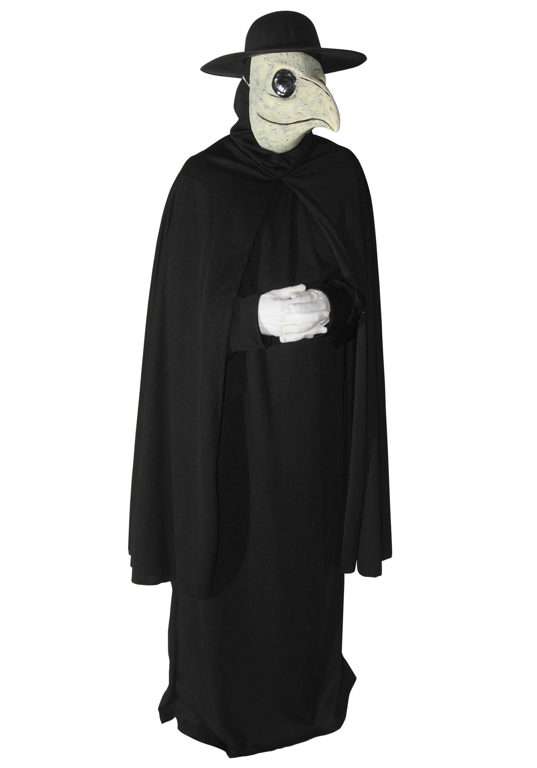 Dr Peste Adult Costume Di Venezia Plague Death Doctor