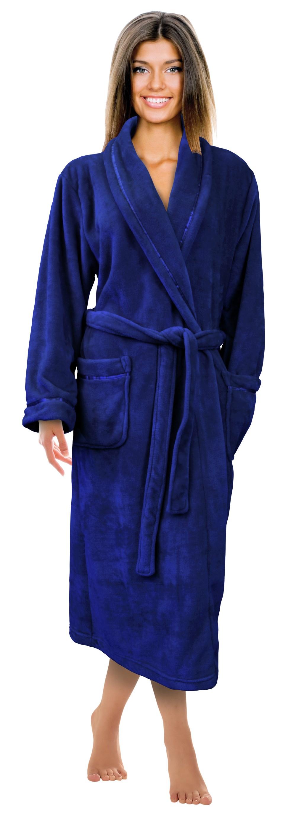Napa® Womens Super Soft Warm Microfiber Fleece Plush ...