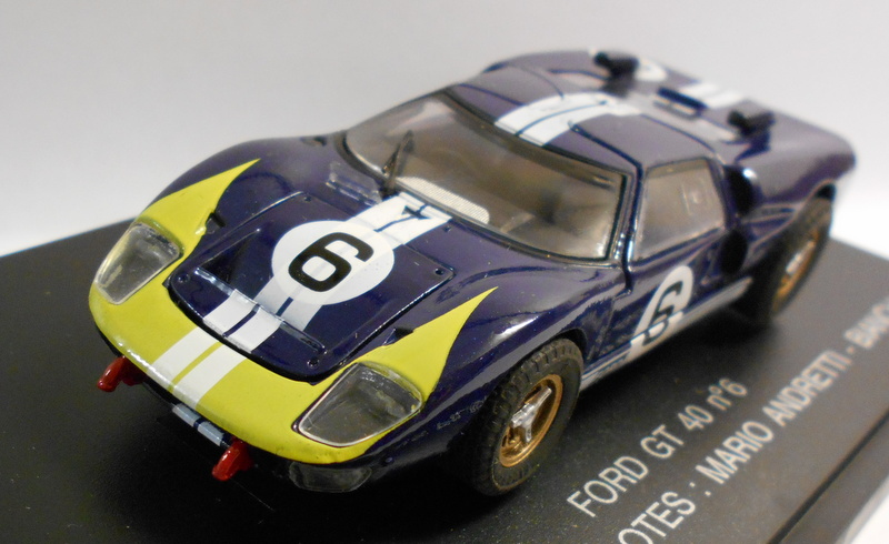 Eagle Race 1 43 Scale Diecast Model 121008 FORD GT N.46 1966 LE MANS PILOTES