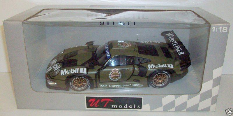 ut models 1 18 39627 porsche 911 gt1 test car 1996 ebay. Black Bedroom Furniture Sets. Home Design Ideas