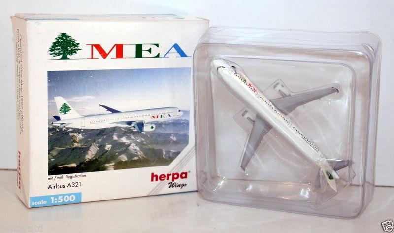 HERPA 1 1 1 500 - 508711 AIRBUS A321 MEA d5996c