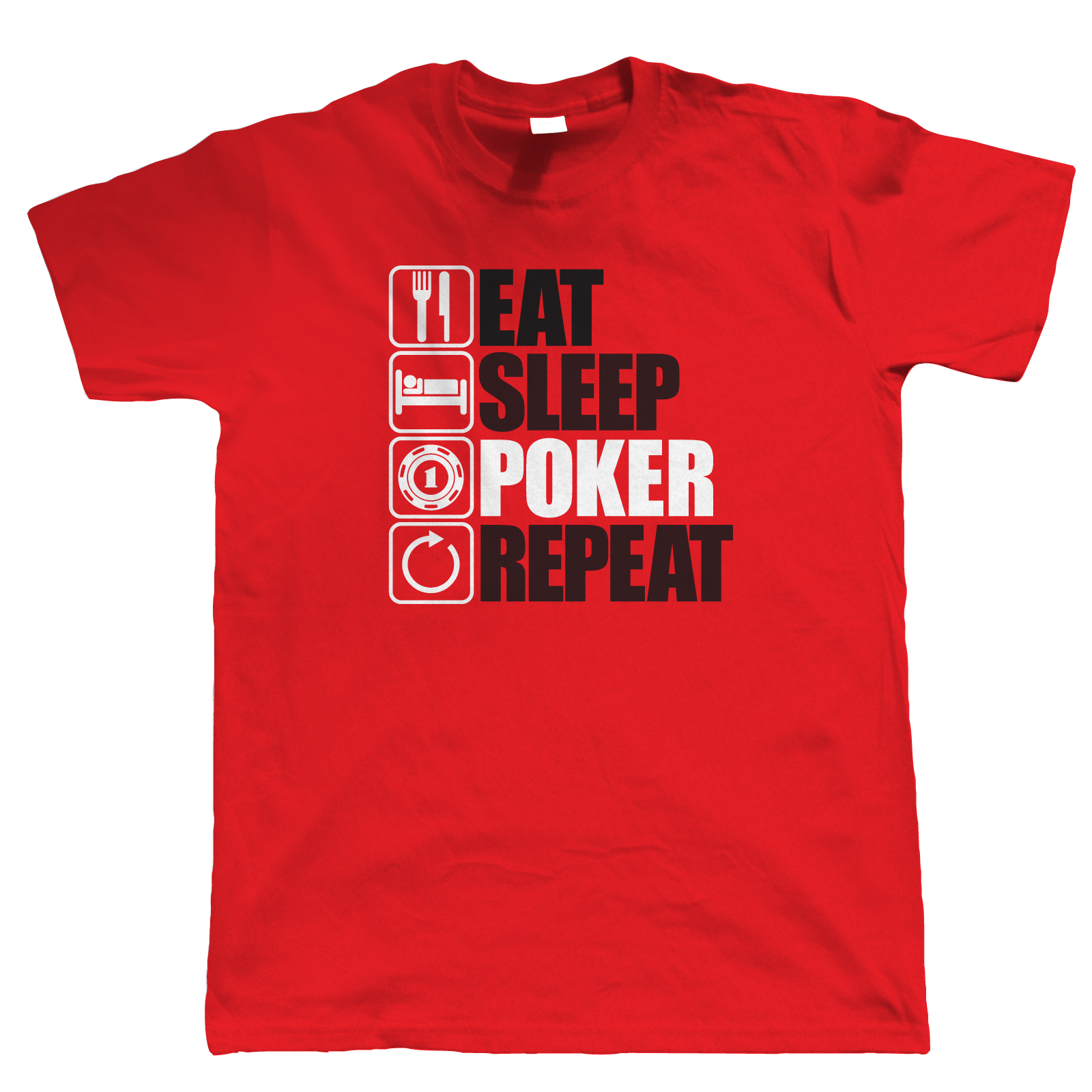 Poker t-shirts funny