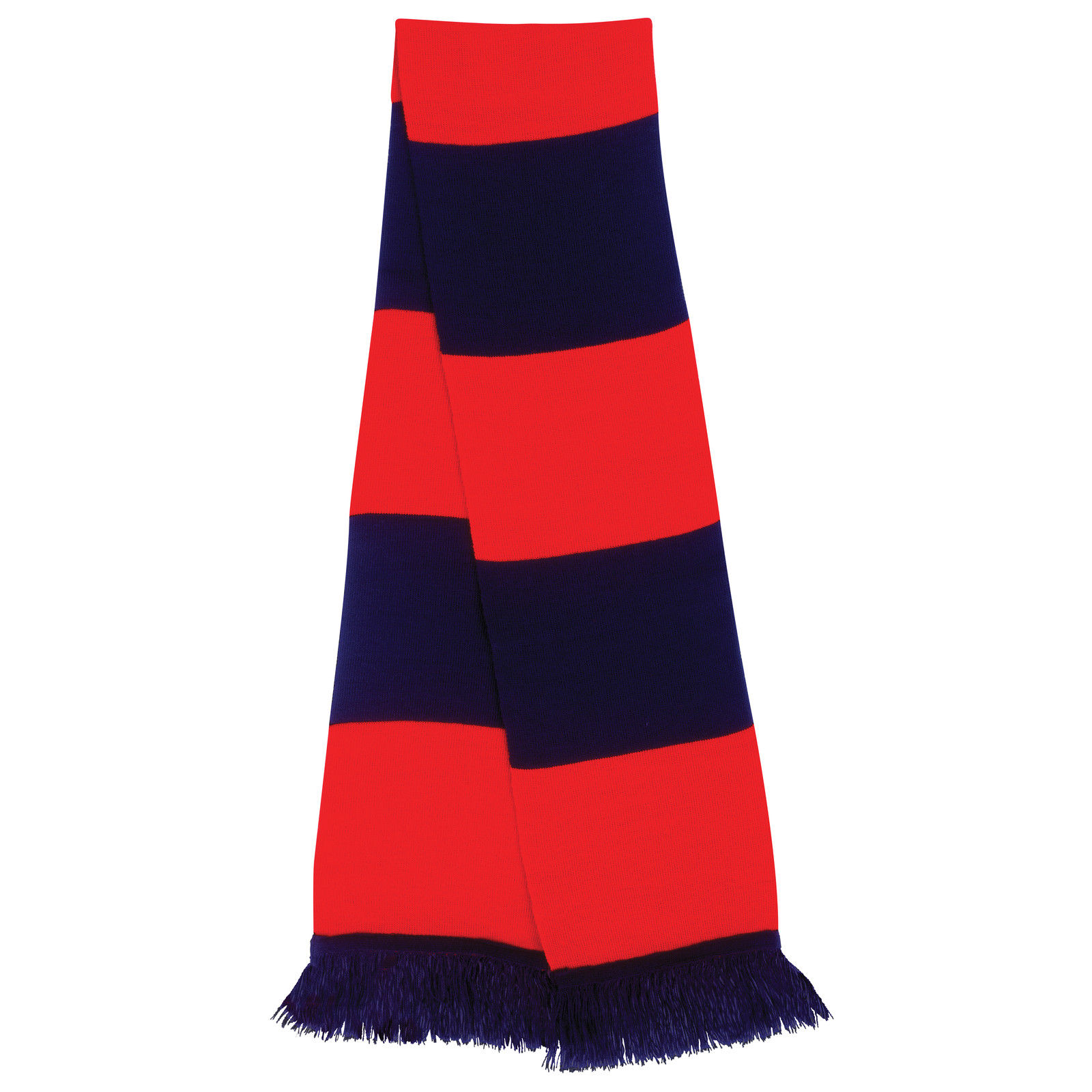 football rugby team supporters scarf hockey contrast