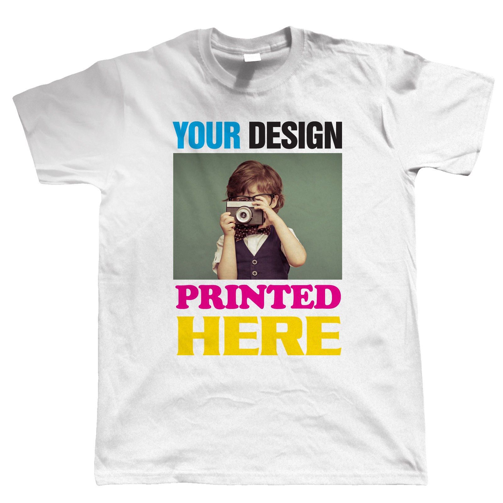 Custom t shirt printing personalised your image photo for How to design and sell t shirts