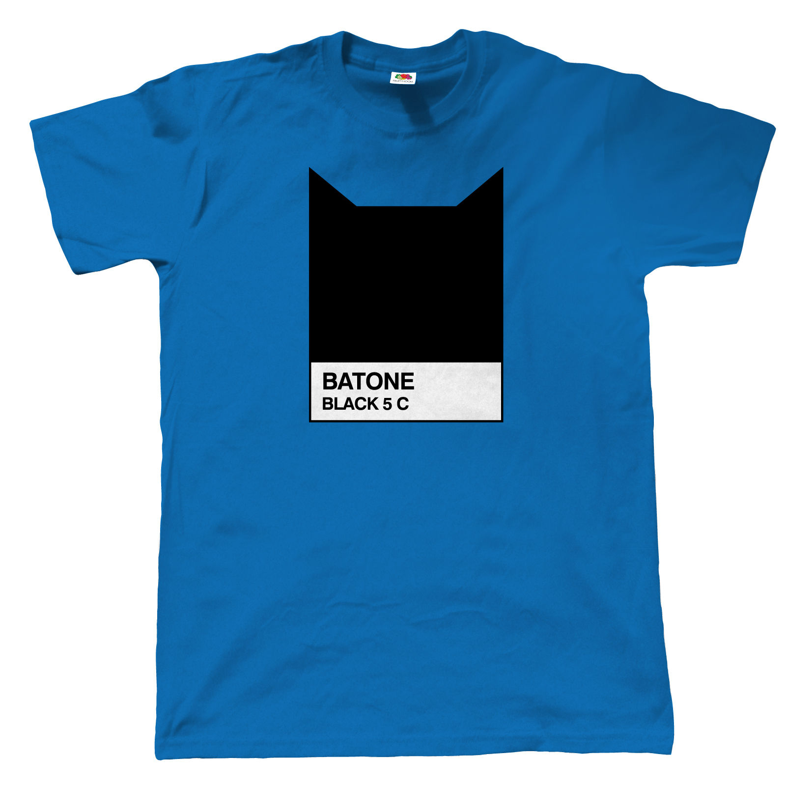 Batone mens funny graphic designer t shirt batman pantone for Graphic design t shirts uk