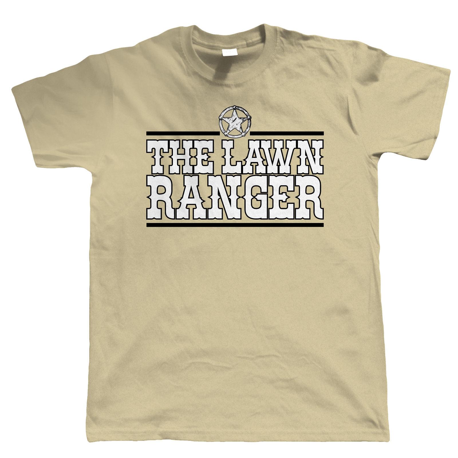 The lawn ranger mens funny gardening t shirt gift for for Gardening gifts for men