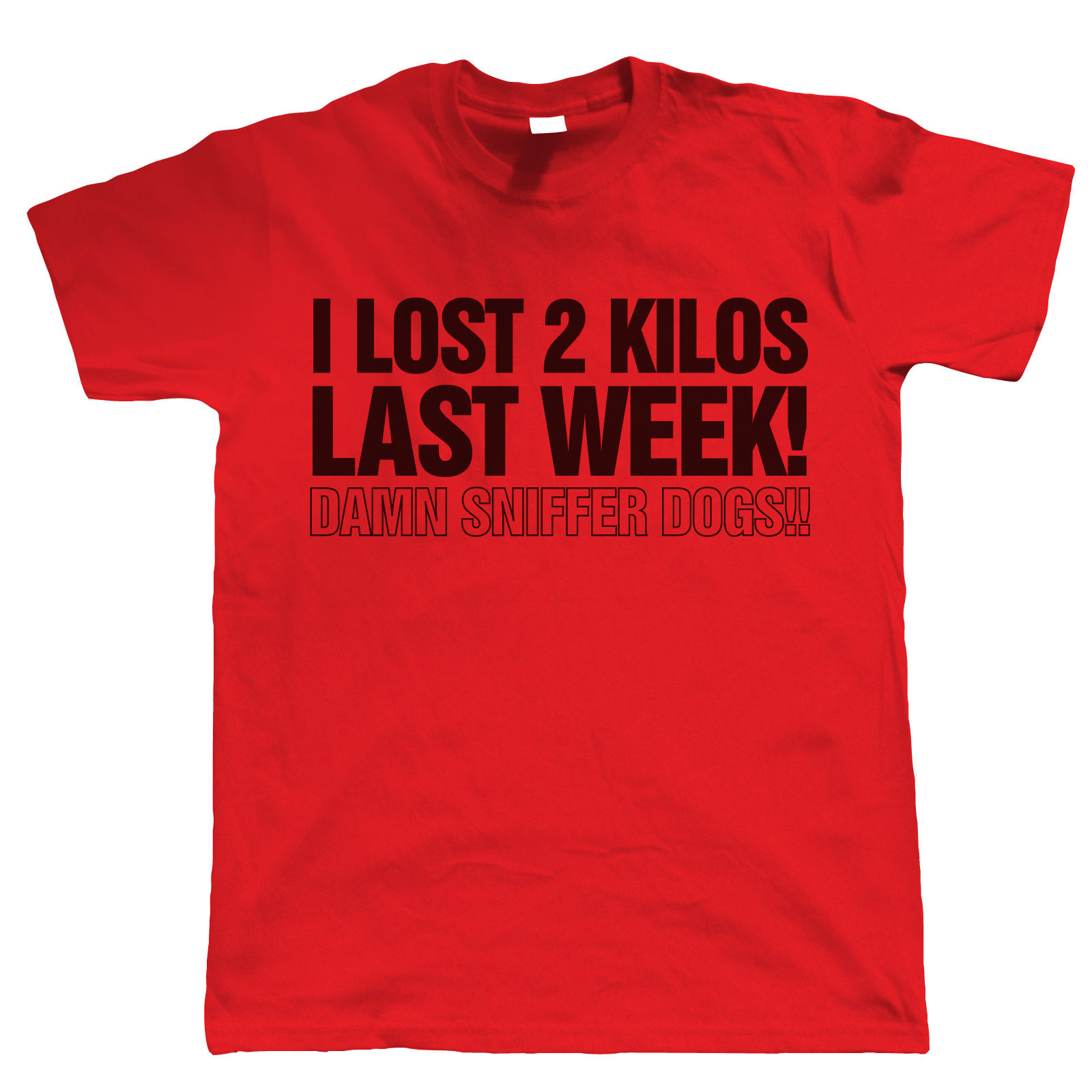 I lost 2 kilos last week mens funny t shirt birthday for Silly shirts for men