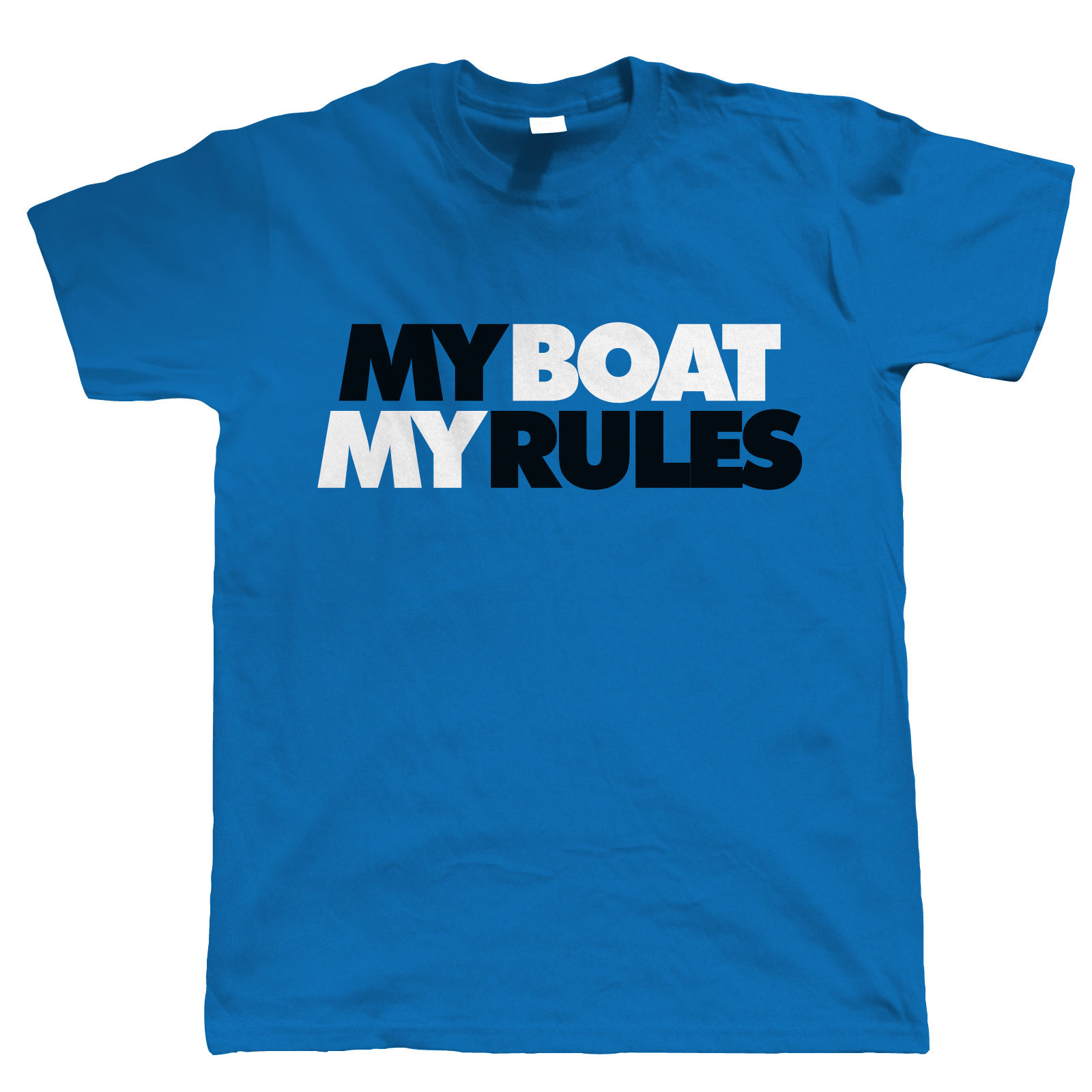 My Boat My Rules Mens Sailing T Shirt Ebay