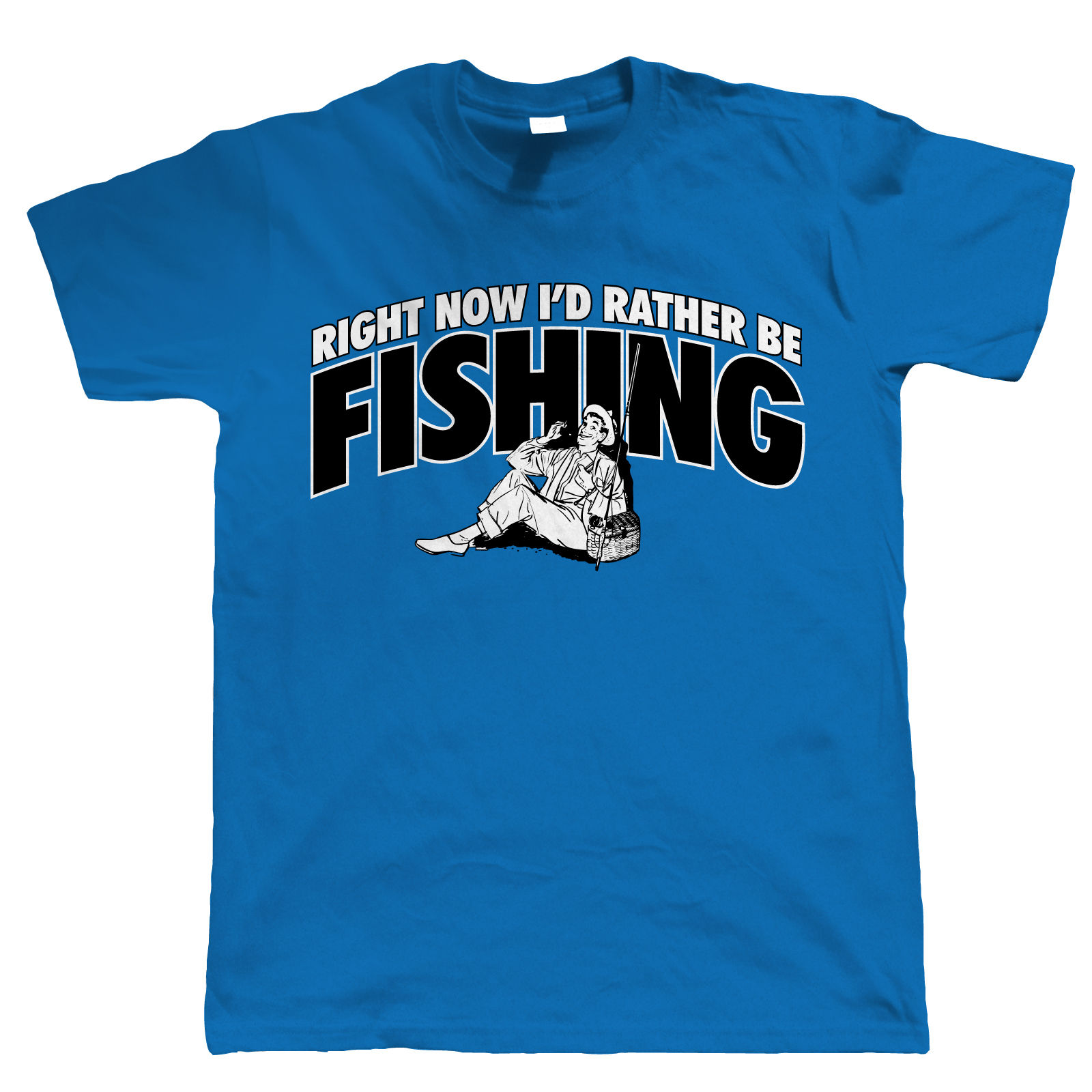 Right now i 39 d rather be fishing funny mens t shirt all for 4xl fishing shirts