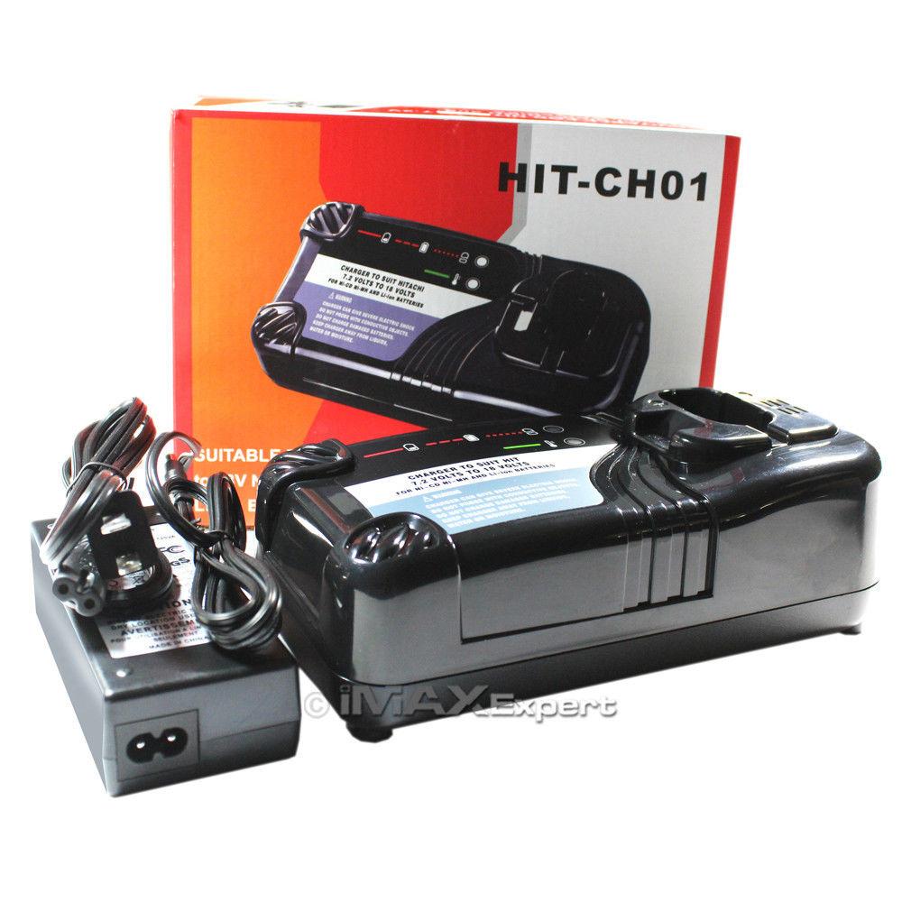 Smart Charger For Hitachi Eb1412s Eb1414s Eb1424 Eb1426h