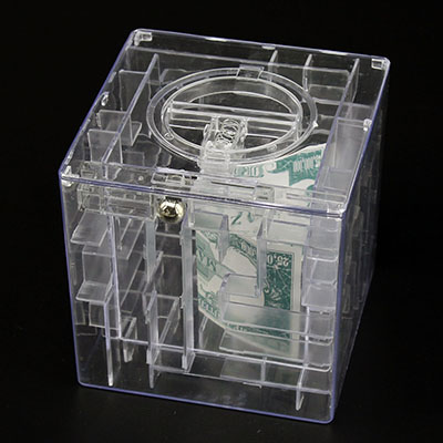 how to open money puzzle box