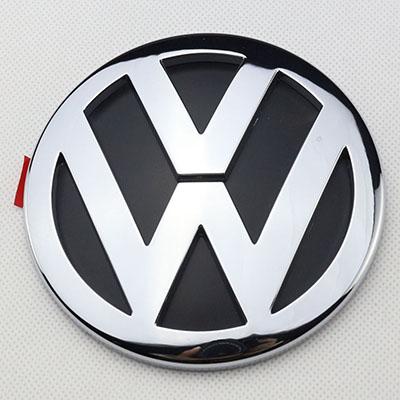 oem chrome badge logo rear trunk lid 1k5853630fcs emblem for jetta vw 2006 10 ebay. Black Bedroom Furniture Sets. Home Design Ideas