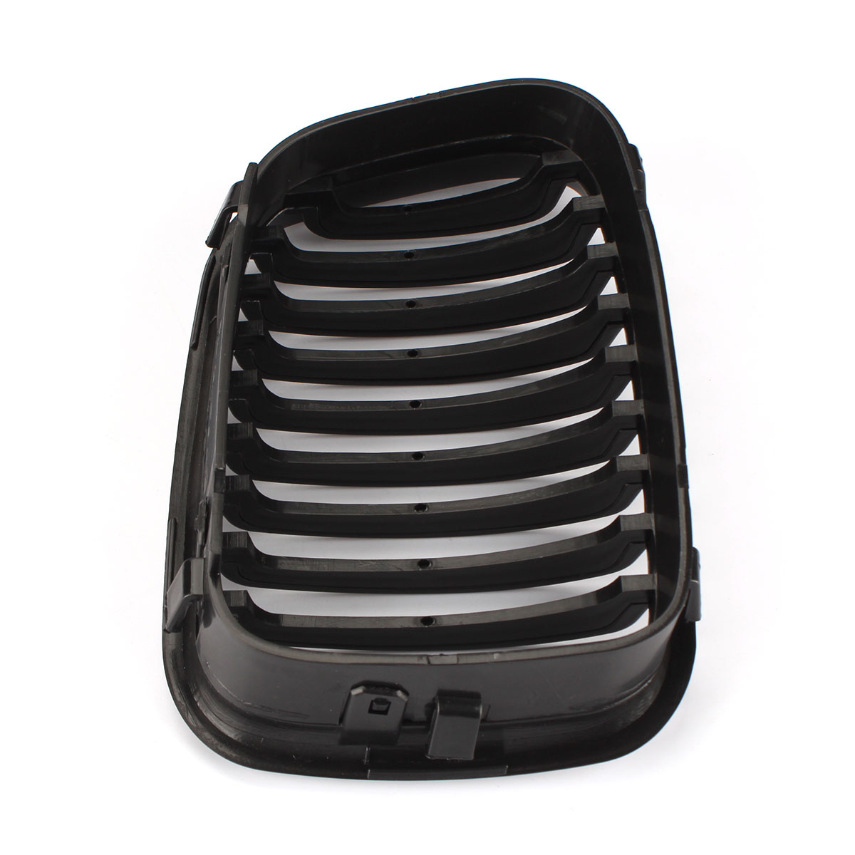 pair black kidney 2 door front grilles for bmw e46 325ci. Black Bedroom Furniture Sets. Home Design Ideas